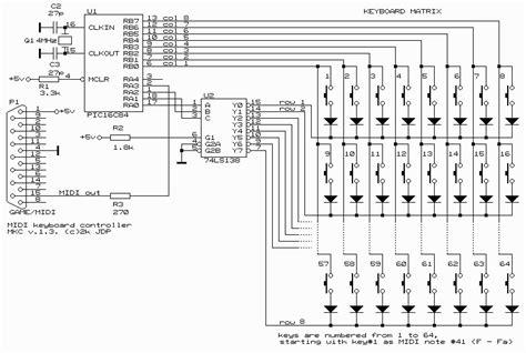 free download ebooks Midi Keyboard Wiring Diagram