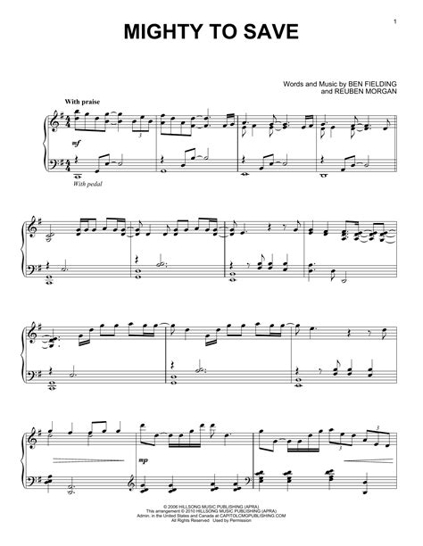 Mighty To Save Duet For Flute And Bb Clarinet  music sheet
