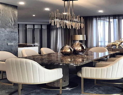modern dining room lafurniturestore
