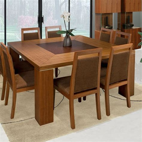 modern square dining table for 8 Google Search Dining