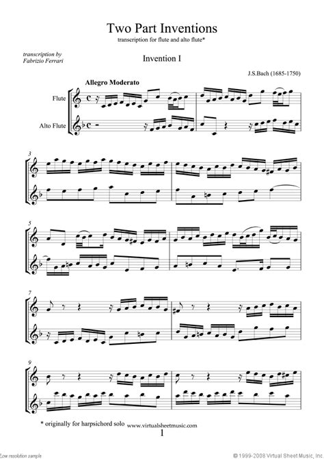 Moves For Two For Flute And Alto Flute  music sheet