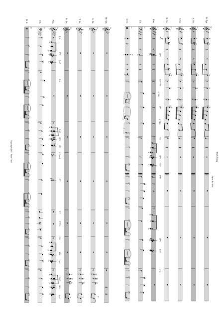Mrs Samba Stage Arrangements By Peter Vind  music sheet