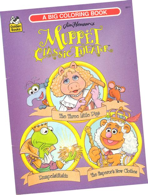 muppet coloring book eBay