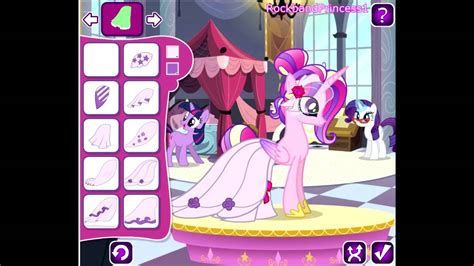my little pony dress up games Play my little pony dress