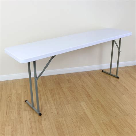 narrow folding table eBay