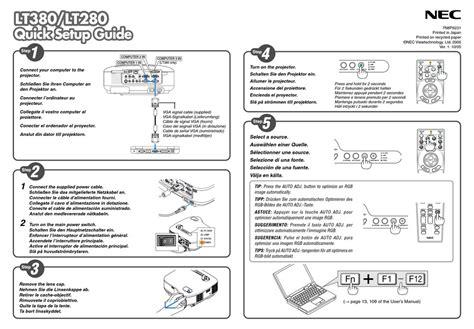 free download ebooks Nec Lt280 User Manual.pdf