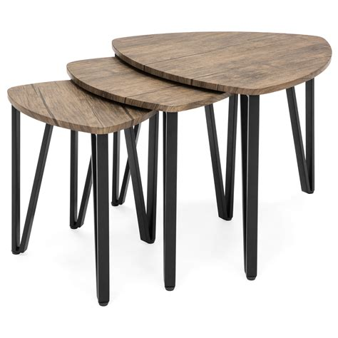 nest of 3 coffee table set eBay