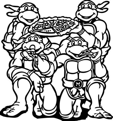 ninja turtles coloring page eBay