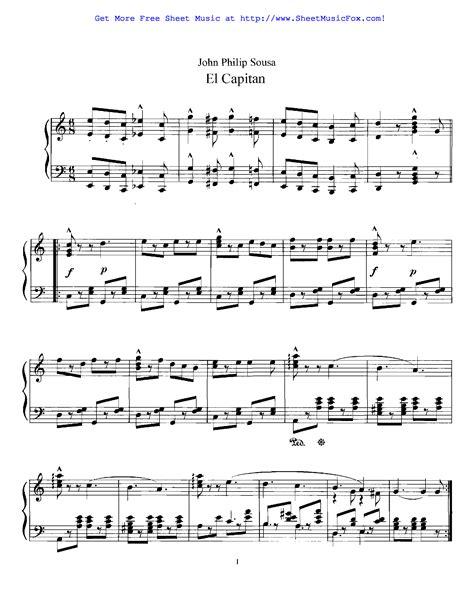 not so sousa march music sheet