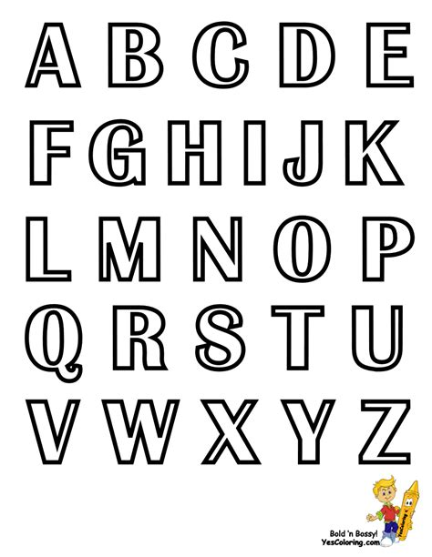 numbers alphabet letters coloring pages