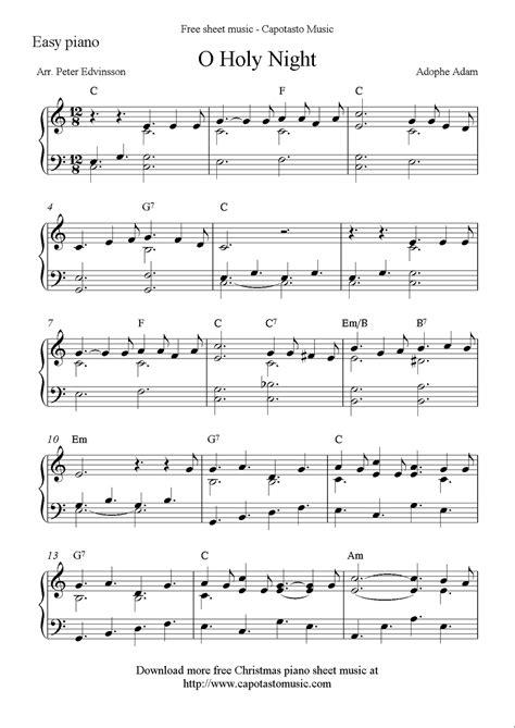 O Christmas Night  music sheet