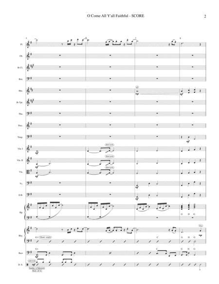 O Come All Y All Faithful Soloist Orch music sheet