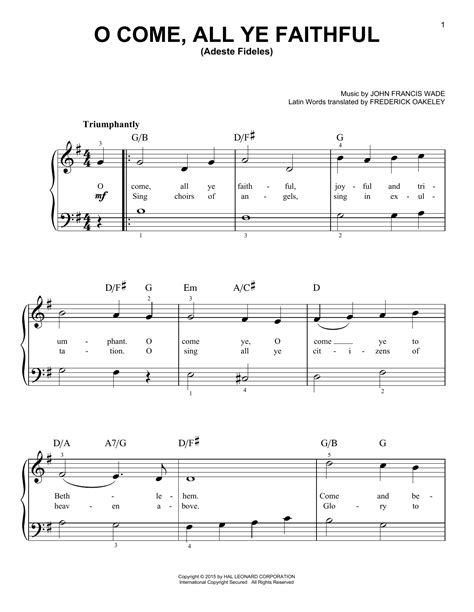O Come All Ye Faithful Adeste Fideles Woodwind Quintet  music sheet