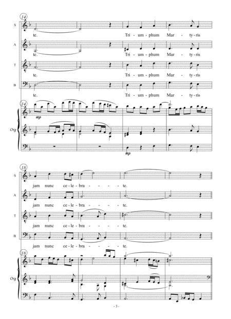 O Felix Caecilia  music sheet