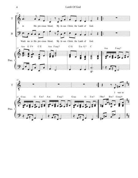 O God You Are My God Duet For Tenor And Bass Solo  music sheet