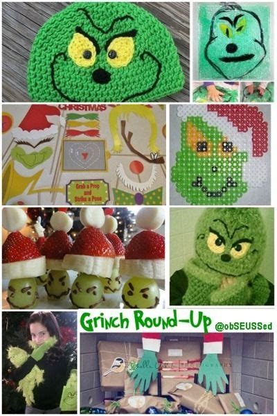 obSEUSSed Grinch Christmas Craft Round up