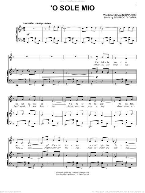 Oh Sole Mio For 5 Or 6 Saxophones  music sheet