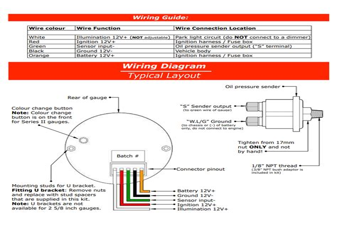free download ebooks Oil Pressure Sender Wiring Diagram