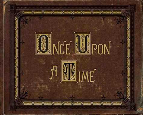 once upon a time storybook eBay