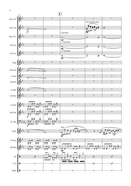 One Day Like This Brass Band  music sheet