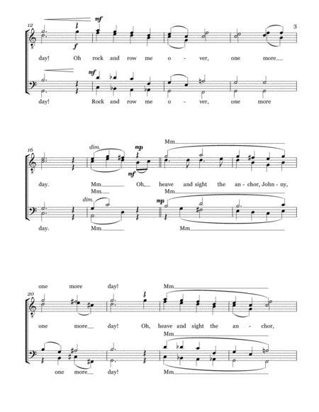 One More Day Ttbb Voices A Cappella  music sheet