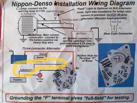 free download ebooks Oval 4 Wire Denso Alternator Wiring Diagram