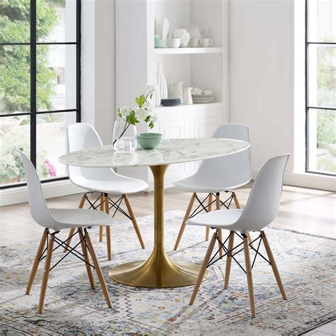 oval dining table eBay