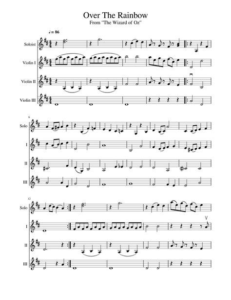 Over The Falls For Mixed Ensemble  music sheet