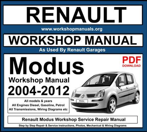 free download ebooks Owner Manual Renault Modus.pdf