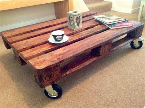 pallet coffee table eBay