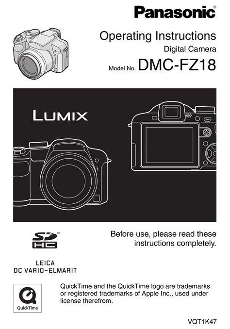 free download ebooks Panasonic Lumix Dmc Fz18 Manual.pdf