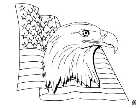 patriotic Coloring Pages Free and Printable