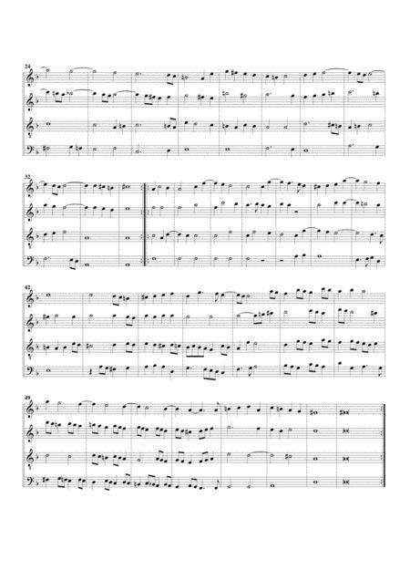 Pavana Fitzwilliam Virginal Book No 292 Arrangement For 4 Recorders  music sheet