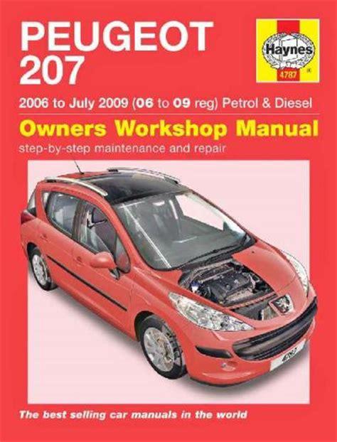 free download ebooks Peugeot 207 Maintenance Manual.pdf