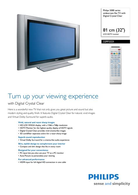 free download ebooks Phillips Television Manual.pdf
