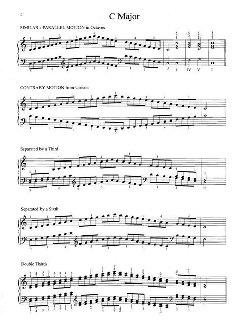 Piano Scale Book  music sheet