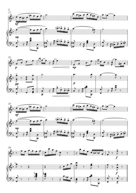 Pineral Tango For Flute And Piano  music sheet