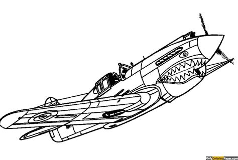 planes Coloring Pages Free and Printable