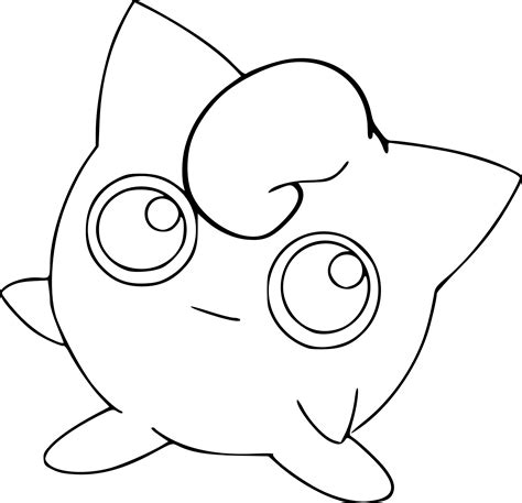 pokemon coloring pages jigglypuff printable coloring pages