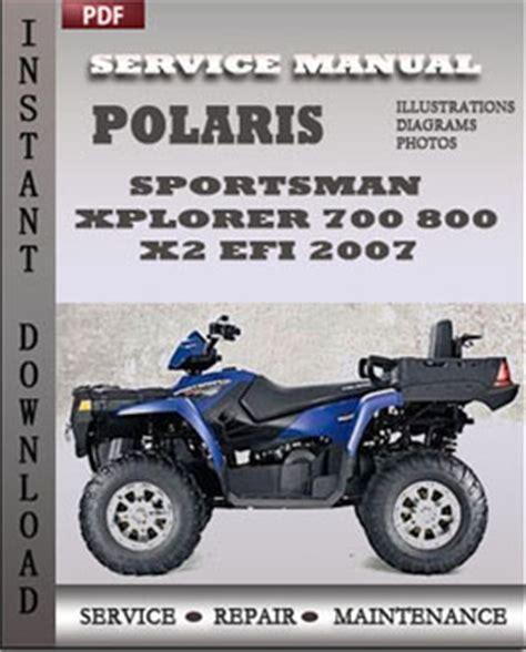 free download ebooks Polaris Sportsman 800 Efi Repair Manual.pdf