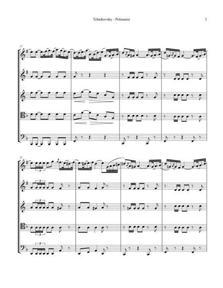 Polonaise From Eugen Onegin For Concert Band  music sheet