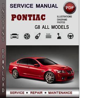 free download ebooks Pontiac G8 Manual.pdf