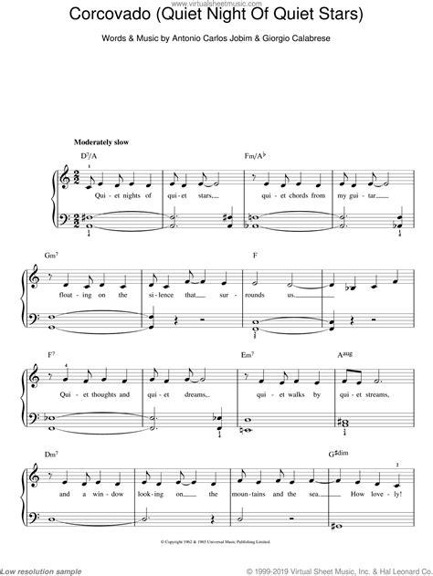 Quiet Space  music sheet