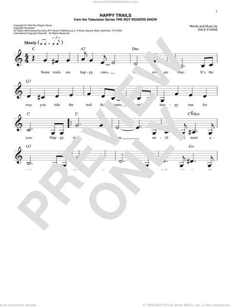Quiet Trails  music sheet