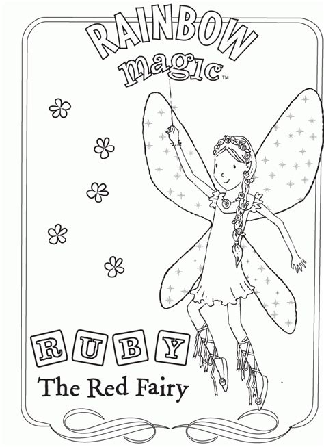 rainbow magic coloring pages Coloring Pages for Kids