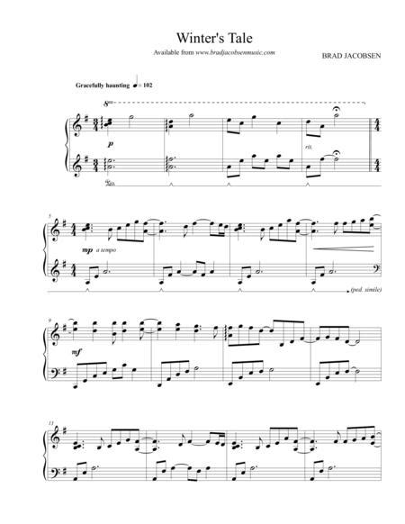 Red By Brad Jacobsen  music sheet