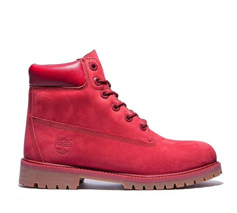 red timberland boots eBay