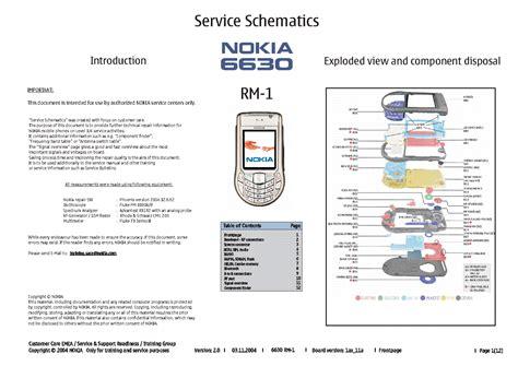 free download ebooks Repair Manual Nokia 6630.pdf