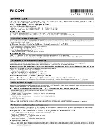 free download ebooks Ricoh Gx200 User Manual.pdf