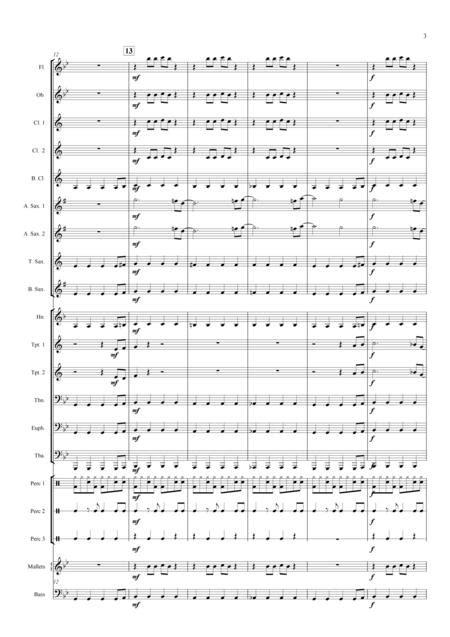 Rocket Science Concert Band  music sheet